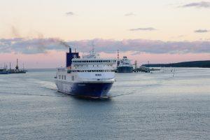 Dėl sieros laivuose – nauji protestai