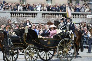 Švedijoje iškilmingai švenčiamas karaliaus 70-asis gimtadienis