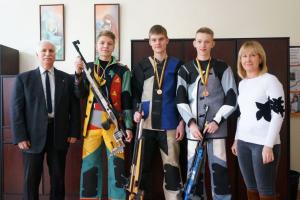 Kauno rajono šaulių komandos pelnė medalius