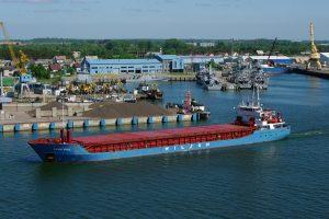 Tirs laivybą Malkų įlankos prieigose