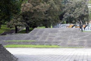 Vilnius statys paminklą reformacijos ir lietuviškos raštijos pradininkams