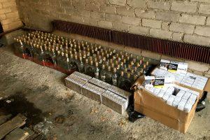 Už nelegaliai gabentas prekes – 1 500 eurų bauda
