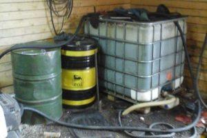 Panevėžio rajone rado 2 tonas nelegalaus dyzelino
