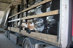 Muitininkai sulaikė daugiau nei 1 mln. eurų vertės kontrabandos krovinį