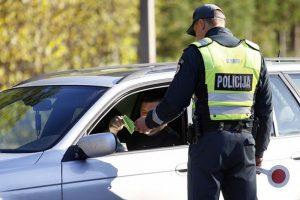 Lietuvos vairuotojams nori palengvinti gyvenimą