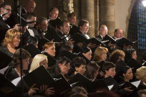 Smuikininkų Mekoje – ovacijos Kauno choristams