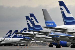 """Lietuvos oro erdvėje šiemet daugiausiai skraidė """"Finnair"""""""