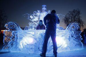 Ledo skulptūrų festivalis Latvijoje priviliojo 33 tūkst. lankytojų