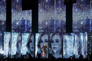 Dainininkė Adele: mano sėdynė – per didelė