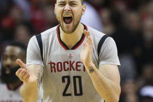 """D. Motiejūnas nepasirodė """"Rockets"""" medicinėje apžiūroje"""