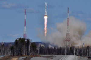 Rusija pirmąkart paleido raketą iš naujojo Rytų kosmodromo