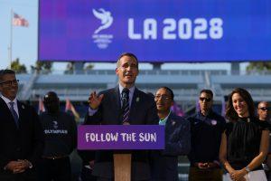 Los Andželui atverta galimybė rengti 2028-ųjų olimpines žaidynes