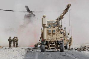 Afganistane per savižudžio ataką žuvo gruzinų karys