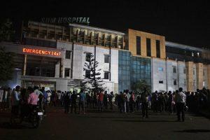 Indijoje per gaisrą ligoninėje žuvo mažiausiai 19 žmonių