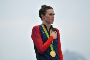 Moterų triatlono varžybose nugalėjo amerikietė