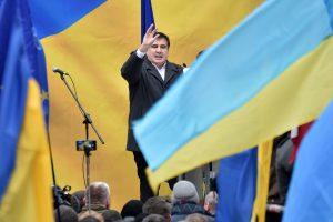 Iš buvusio Gruzijos prezidento M. Saakašvilio atimta Ukrainos pilietybė