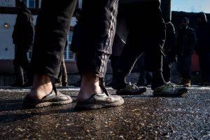 Migrantai apsigyveno viešbutyje prie Kauno