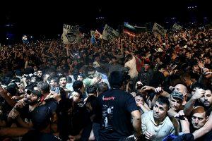 Argentinoje per koncertą kilus spūsčiai žuvo du žmonės