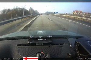 Amerikietis autostrada Vilnius-Kaunas skriejo 210 km/h greičiu