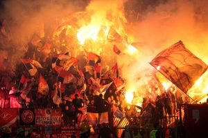 Serbijoje subadyti du futbolo sirgaliai iš Rusijos