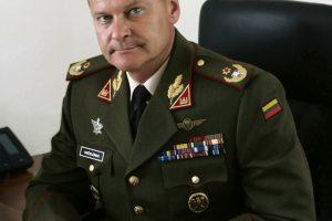 Karo akademijos vadovu tapo generolas A. Vaičeliūnas