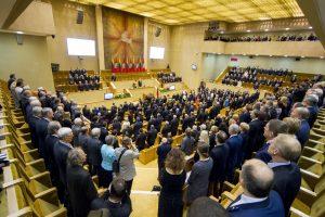 Naujajame Seime – šešios frakcijos