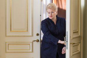 D. Grybauskaitė: šioje Vyriausybėje į daug ką numojau ranka