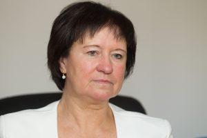 V. Baltraitienė atlaikė konservatorių interpeliaciją