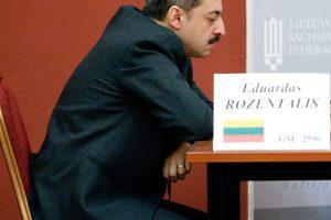 E. Rozentalis – pasaulio senjorų šachmatų pirmenybių vienvaldis lyderis