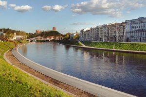 Vilniuje ketinama atidaryti ekologišką keltą per Nerį