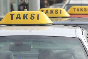 Taksistas apvogė klaipėdietį