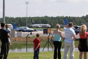 Kaunas laikinai taps Lietuvos aviacijos sostine