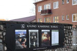 Kauno politikai susikibo dėl Kamerinio teatro