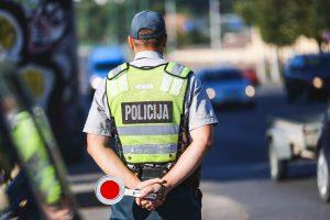 Vilniaus policija gaudė gudraujančius vairuotojus