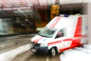Ligoninėje atsidūrė karštu vandeniu nusiplikęs vaikas