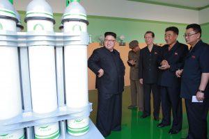 Kurdama bombas Šiaurės Korėja nesnaudžia