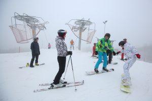 Kleboniškio miške išrinkta vieta slidinėjimo trasai