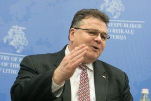 L. Linkevičius ragina Rusijos ministrą neieškoti priešų