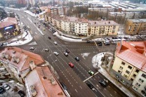 Permainos Kauno gatvėse sumažino spūstis