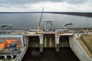 Kauno hidroelektrinės tilto rekonstrukcija artėja prie finišo