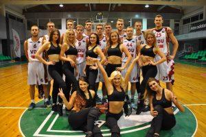 VDU komanda užsitikrino pirmą vietą LSKL reguliariajame sezone