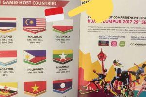 Malaizija atsiprašė, kad supainiojo Indonezijos ir Lenkijos vėliavas