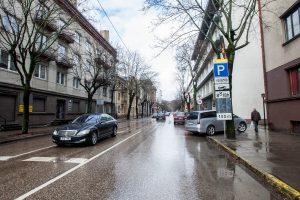 A. Mickevičiaus gatvėje – eismo apribojimai