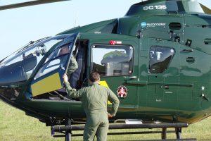 Pasieniečių sraigtasparnis dalyvaus tarptautinėje operacijoje