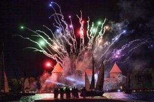 Senoji sostinė Trakai švenčia: reginiai už milijoną