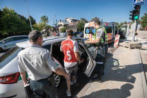 Sujudimas Veiverių gatvėje: specialiosios tarnybos gelbėjo narkomaną