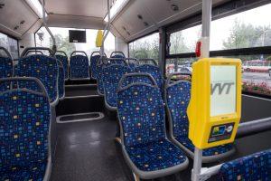 Klaipėdoje autobuso vairuotoją apvogė, kol jis dirbo