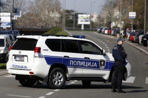 Serbijos policija per kovos su korupcija reidą areštavo 53 žmones