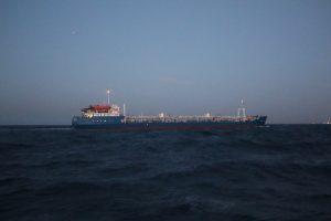 Lamanšo sąsiauryje susidūrė tanklaivis ir prekinis laivas