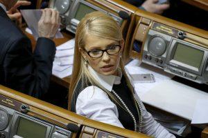 Ukrainos sporto ministras pašalintas iš J. Tymošenko partijos